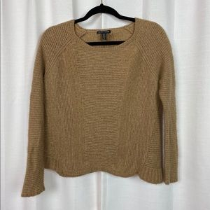 Eileen Fisher Brown Wool/Camel Hair Sweater Sz.L